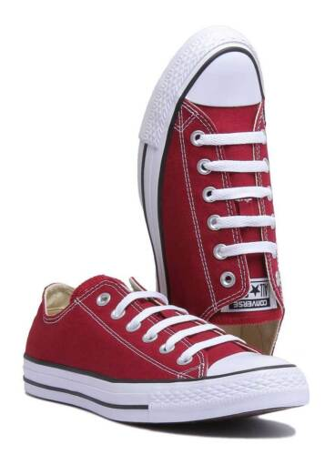 Uk 3 Maroon Classic Women All Chuck Canvas Star Converse Size Trainers Ox Taylor n7xq4S
