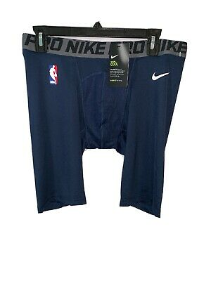 Nike Pro NBA Compression Shorts Player Issued 880802-010 Black LT