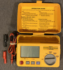 Amprobe Amb 50 Industrial High Voltage Insulation Tester