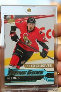 2016-17-Nick-Paul-UD-YG-Young-Guns-Exclusives-219-Ser-026-100-Rookie-RC