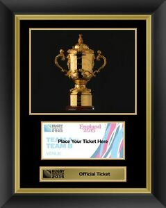 image is loading rugby world cup 2015 official ticket display photo