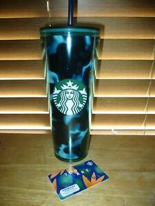 Starbucks-20-gift-card-Plus-Green-Blue-Tortoise-Tumbler-2020-Summer-Limited-Ed