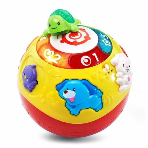 VTech Wiggle Crawl Ball Developmental Educational Toddler New Learning Music Toy