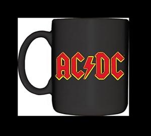 Image Is Loading Ac Dc Logo Rock Band 12 Oz Black