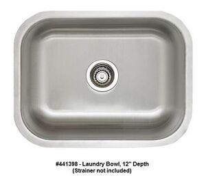 image is loading blanco 441398 stellar laundry bowl undermount stainless steel  blanco 441398 stellar laundry bowl undermount stainless steel sink      rh   ebay com