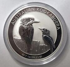 2017 Australian Kookaburra 1 oz Troy Ounce .999 Silver Bullion Coin