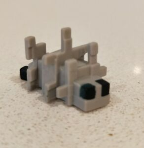 Minecraft-Mini-Series-Mini-Sliver-Fish-Action-Figure-New-Without-Tag-or-Box