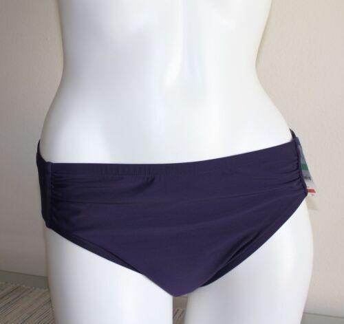 NWT INC International Concept Swimsuit Bikini Bottom Size 10 8 Plum