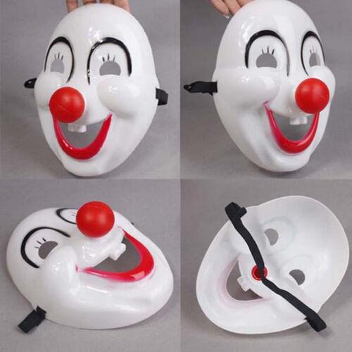 Halloween Fancy Dress Party Mask Red Nose Clown Masquerade Mascaras Masks HU