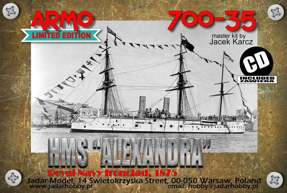 Armo 700-35 1 700 HMS Alexandra 1875