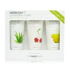 USPS The Face Shop - Herb Day 365 Cleansing Foam Special Set Aloe/Acerola/Lemon