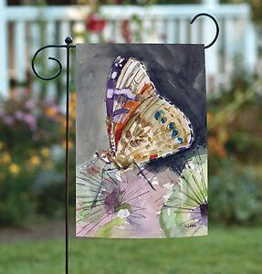 Toland Watercolor Butterfly 12 5 X 18 Spring Wing Dandelion Garden Flag 17917032192 Ebay