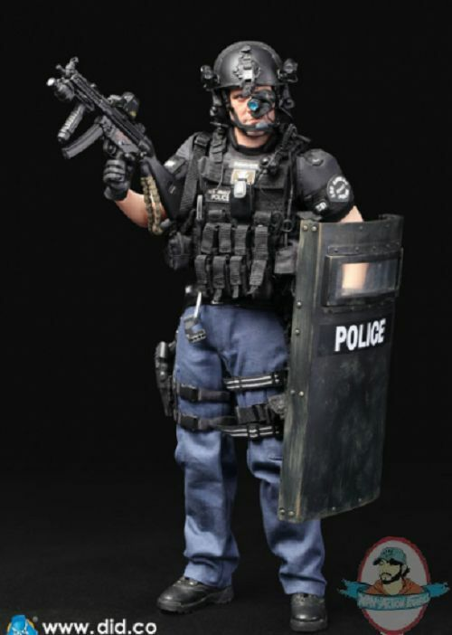 1/6 Los Angeles Police Department Special Weapons And Tactics ma1006