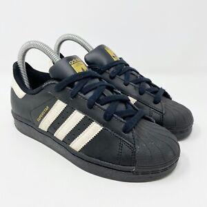 White Big Kids Black Sneakers Size 2.5