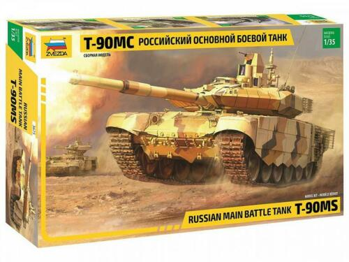 Russian Main Battle Tank T-90MS 3675 ZVEZDA 1:35 New !