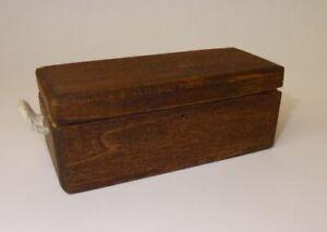 Dollhouse Sir Thomas Thumb Red Wood Carpenters Tool Box w Tray Artisan Miniature