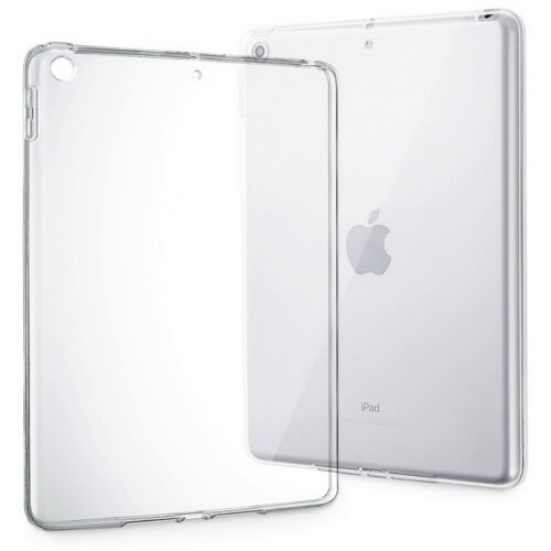 "Ultra Thin Protective Clear TPU Gel Case Cover For Apple iPad 9.7/"" 2017"