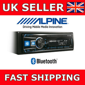 Alpine-UTE92BT-Digital-Media-Mechless-Stereo-Bluetooth-USB-Reciever-Car-HeadUnit
