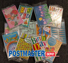 84 Assorted Birthday Greeting Cards Mega Lot, 14 Different Designs, $231 MSRP
