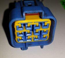 ISUZU TROOPER BODY SIDE ENGINE HARNESS CONNECTOR 12 PIN BLUE 3.2 V6 WIRING 4X4