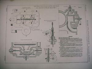 Planche Science école Polytechnique Machine Fixe Sté Centrale Construction Vzngtajn-10042817-114738891