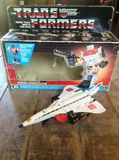 Vintage 1985 Hasbro Transformers G1 SILVERBOLT SUPERION takara / With Box