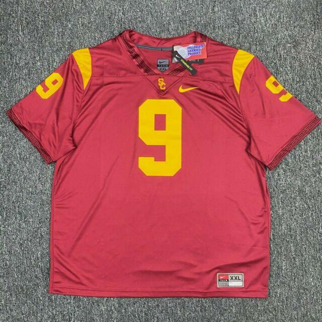 Nike USC Trojans #9 Authentic Football Jersey, Size Large JuJu Smith-Schuster