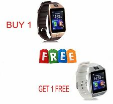 BUY 1 GET 1 FREE Smart Watch Phone GSM SIM+Card Slot Support Android IOS Phone