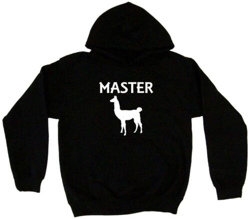 Llama Master Silhouette Men/'s Hoodie Sweat Shirt Pick Size Small-5XL