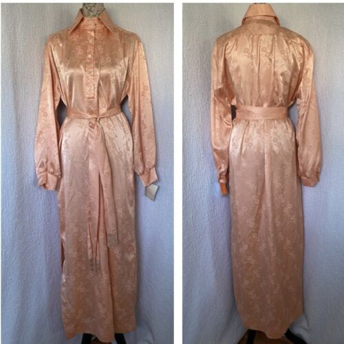Vintage  Christian Dior NEW Loungewear Satin  Robe