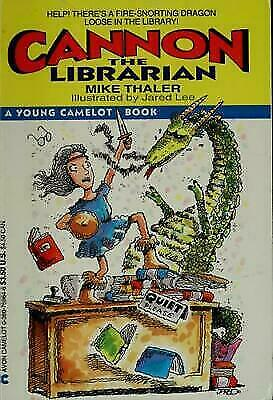 Cannon the Librarian (An Avon Camelot Book) Thaler, Mike, Copyright Paperback C