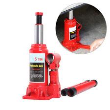2 Ton Hydraulic Bottle Jack Car Repair Tool Manual Lift Trailer Truck Car Jack