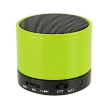 BLUETOOTH WIRELESS MINI PORTABLE GREEN  SPEAKERS FOR IPHONE IPAD MP3 Rechargble
