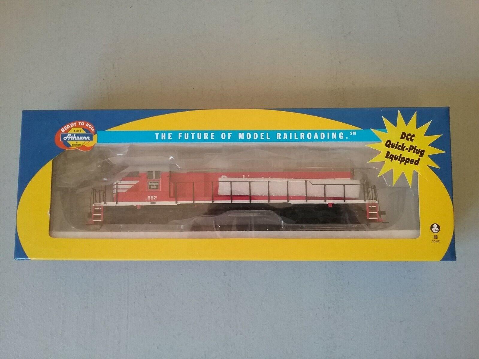 Athearn  89880 Burlington CB&Q SD-40 Engine  882