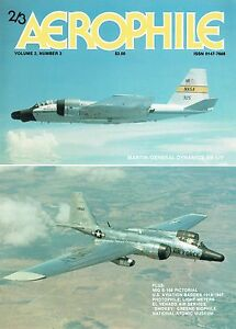 AEROPHILE Vol.2 #3: MARTIN RB-57F & A3 FOLD-OUTS 31 pps/ MiG E166-1/ DOWNLOAD