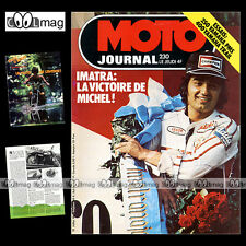 MOTO JOURNAL N°230 MOTO CROSS GASTON RAHIER ANDRE MALHERBE YAMAHA DT 400 1975