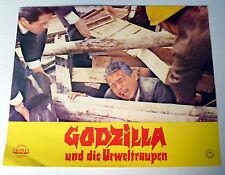 GODZILLA und die URWELTRAUPEN * I. HONDA - EA-AUSHANGFOTO #E - German LC 1974
