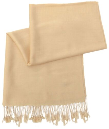 PLAIN COLORED PASHMINA STYLE SCARF SHAWL WRAP EXCEPTIONAL QUALITY