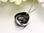 Collana-Uomo-Acciaio-Inox-Donna-Cuore-Catenina-Ciondolo-Anelli-Argento-Swarovski miniatura 5