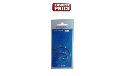 Cosido a mano agujas 3 agujas por tarjeta Curvo Reparación Tapicería Craft