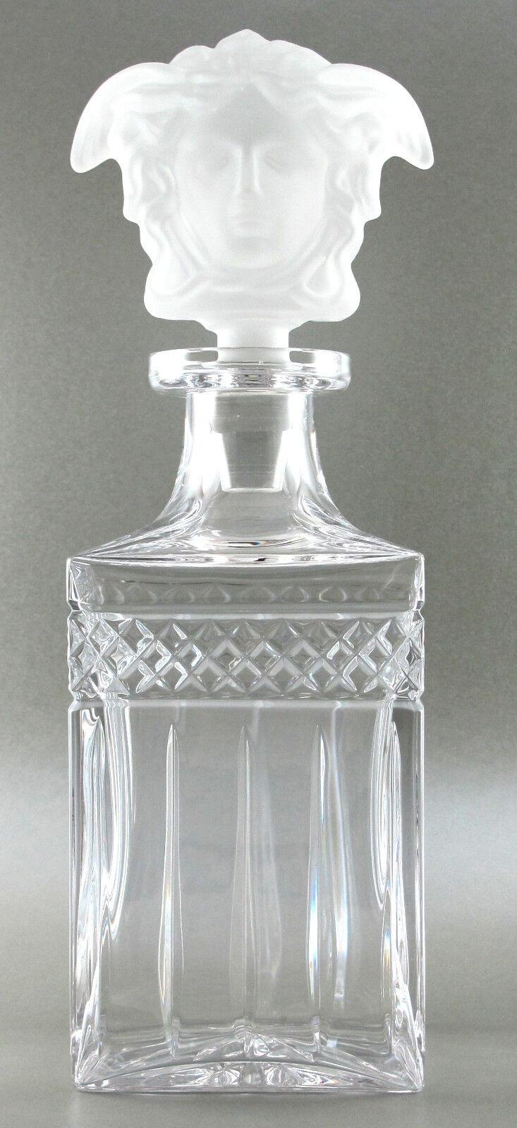 Whisky Carafe-bleikristall environ 0,6 L contenu Avec Bouchon Motif  Janus  ae545