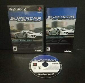 Supercar Street Challenge (Sony PlayStation 2, 2001) PS2 Complete