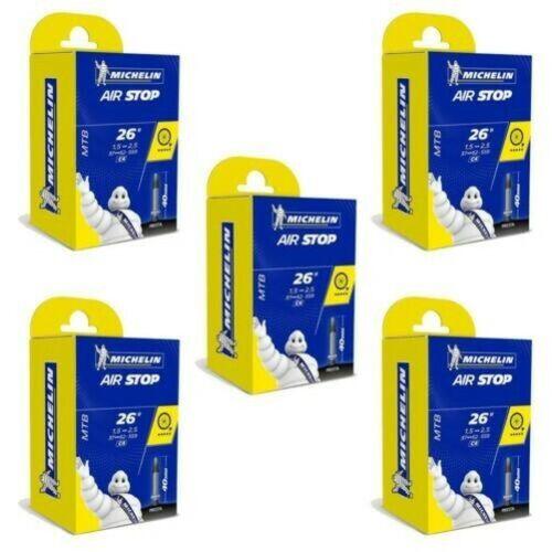 Michelin MTB 26 x 1.5-2.5 Mountain Bike inner tube bundles 40mm Presta Valve