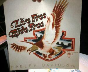 Vintage-1987-Harley-Davidson-Motorcycle-Holoubek-Eagle-Iron-on-t-shirt-transfer6