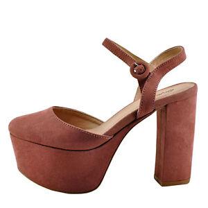 9cfaa278169d Qupid Nala 01 Mauve Women s Closed Toe Platform Chunky Heel Pump