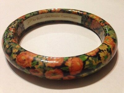 buch deichmann floral bangle bracelet