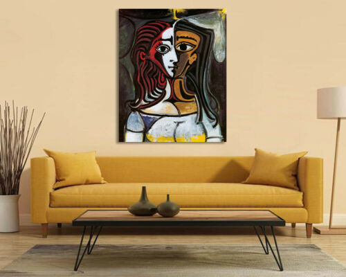 Pablo Picasso Painting Photo  Print On Framed Canvas Wall Art Home Decoration