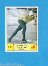 CAMPIONI d. SPORT 1968/69-PANINI-Figurina n.211- DE RIVA -ITALIA-PATTINAGGIO-Rec