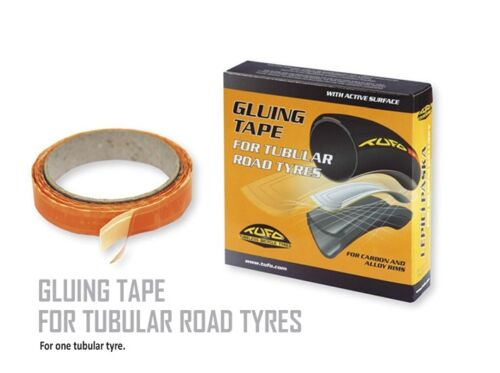 Tufo Gluing Tape for Tubular Road Wheels 19mm 2Wide Surface Caebon And Alloy Rim