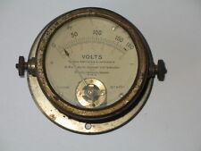 Ancien cadran volts  BRION  LEROUX  JEANNO  époque 1930